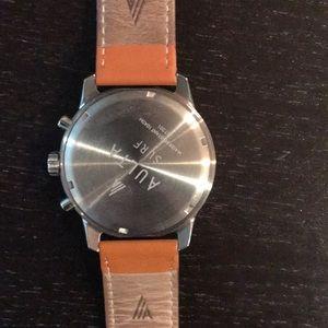 Aulta Surf Accessories - Aulta Leeway Watch silver